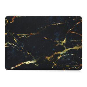 Hardshell Cover Marmer Zwart Goud